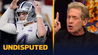 Skip Bayless reacts to Cowboys' blowout loss to Washington, 'I'm done, I'm out' | NFL | UNDISPUTED