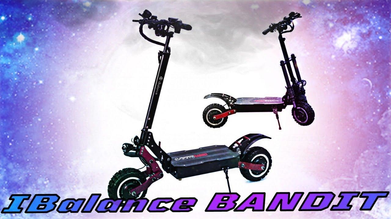 Электросамокат Ibalance Bandit версия 2020 года