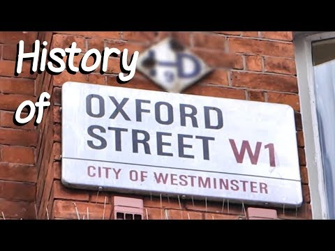 History of Oxford Street, London