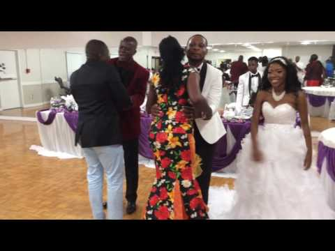 Archive Guelor Nzinga and Sister Beverly Wedding party Lexington Ky