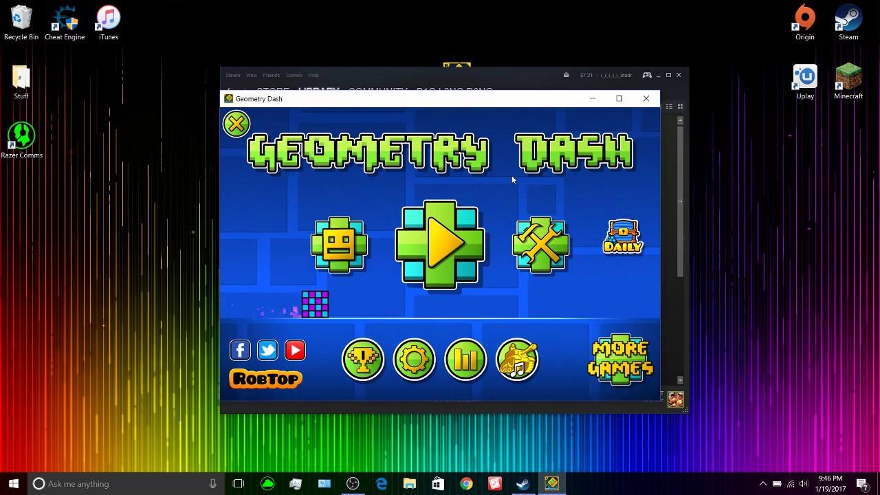 geometry dash exe google drive