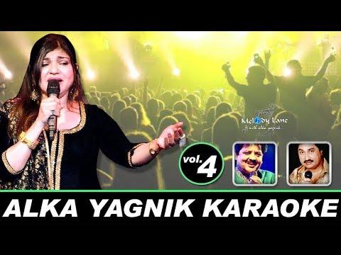 Sing Along With Alka Yagnik • Original Bollywood Karaoke • Vol.4