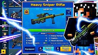 Pixel Gun 3D LIVESTREAM! Heavy Sniper Rifle is OP in [16.5.1]