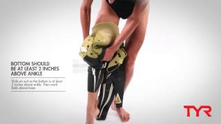 How to Put on a TYR Wetsuit