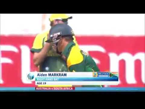 Markram will debut for south africa team...see here his performance in under 19