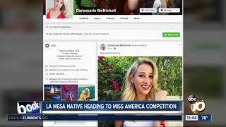La Mesa native heading to Miss America
