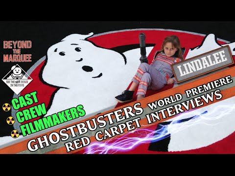 Ghostbusters 2016 Red-Carpet Interviews w/ Cast, Crew & Lindalee Rose