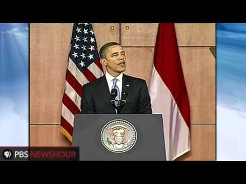 President Obama Addresses Muslim World in Indonesia