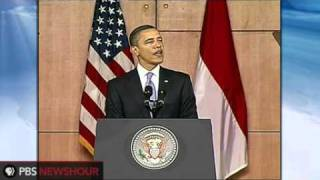 Download Video President Obama Addresses Muslim World in Indonesia MP3 3GP MP4