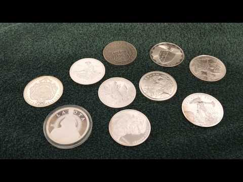 Top 10 Silver 1 Ounce  Rounds Of All Time!