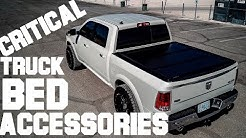 The 3 Truck Bed Accessories You NEED! BedRug & Undercover Ultra Flex - Ram EcoDiesel