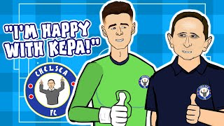 😍Lampard loves Kepa!😍 (#1 Every Premier League Manager Reacts)