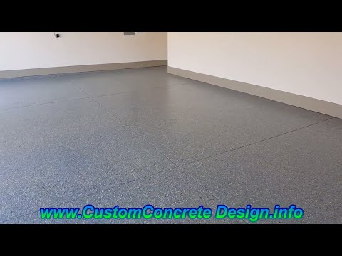 Decorative Concrete Epoxy Garage Floor Lake Ozark, MO