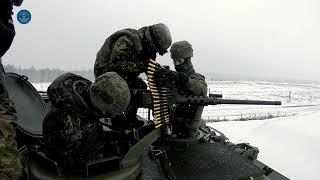 Latvia: Multinational Battalion Tank Exercise