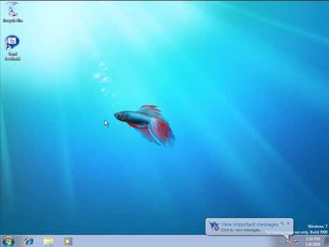 Windows 7 Beta Install