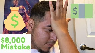 How I got Scammed for $8,000 from my stupidity l Storytime