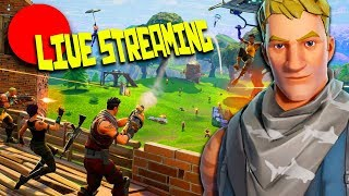 A GAME OF THE FIRST REAL VITTORY - ST3PNY IN LIVE ON FORTNITE!!