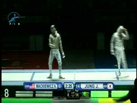 Under 17 Woman Foil World championship - Moscow 2012
