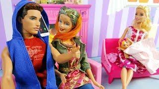 Barbie ve Ailesi Bölüm 152 - Arda Nereye Gidiyor? - Çizgi film tadında Barbie Oyunları