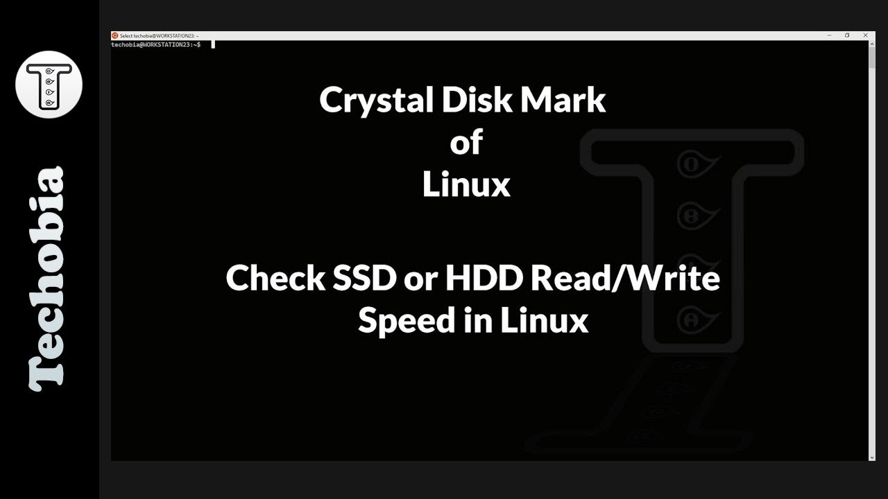 CrystalDiskMark of Linux | Disk Read Wite Speedtest Linux | SSD or HDD  speedtest | Samsung EVO 750