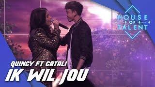 Quincy ft. Catali - Ik Wil Jou (LIVE)