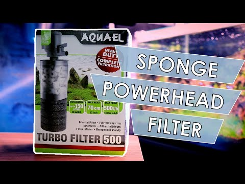 Aquael Turbo Filter 500 Unboxing