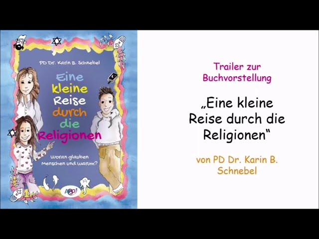 Trailer zur Buchvorstellung: Eine kleine Reise durch die Religionen