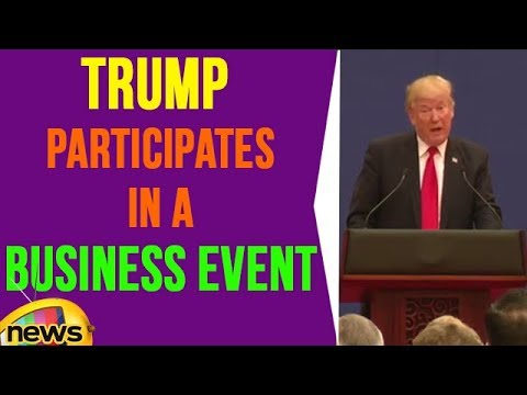 President Trump Participates In a Business Event With President Xi Jinping | Mango News