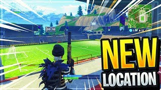 """NEW"" FOOTBALL LOCATION IN FORTNITE (Football Stadium In Fortnite *Map Update*)"