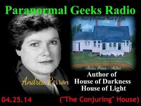 Andrea Perron on Paranormal Geeks Radio