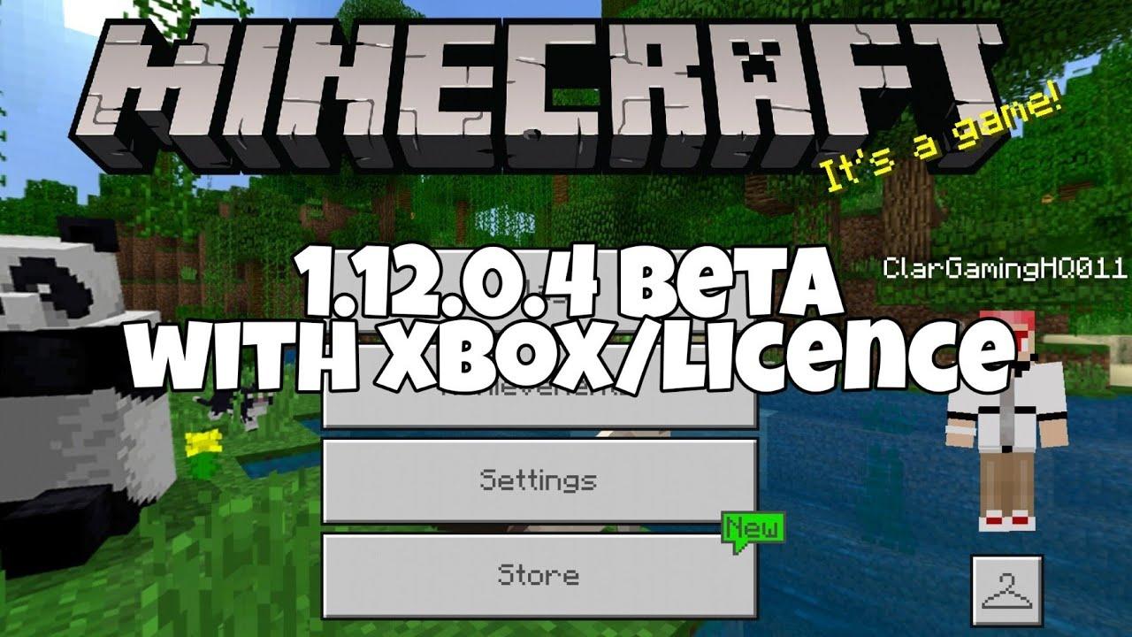 Minecraft Bedrock Edition 1.12.0.6 Apk Download With XBOX ...