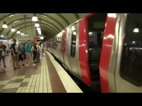Hamburg, Germany - Hamburg U-Bahn (2018)