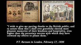 Feb 17, 1890 - P.T. Barnum's address to the future (Remastered w/ transcript)