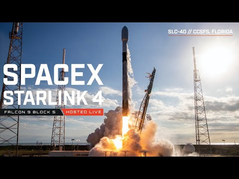 Watch SpaceX Launch 60 Starlink Satellites From Only 4KM Away!