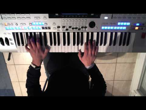 TYROS 4 - DEMO Wave VOCAL SAMPLE - OWN COMPOSITION