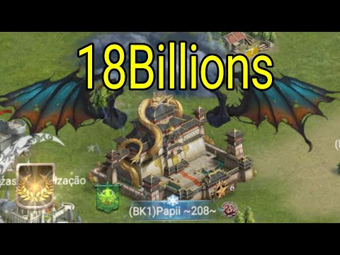 NEW TOP 1 - 18BILLIONS OF POWER - Clash Of Kings (Monsters).