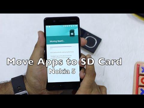 How To Move Apps to SD Card in Nokia 5, Nokia 3, Nokia 6