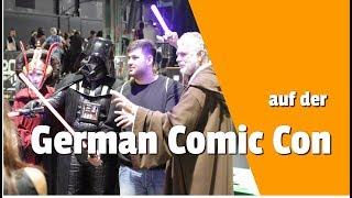 Viele Leute auf der German Comic Con München 2019 / Munich