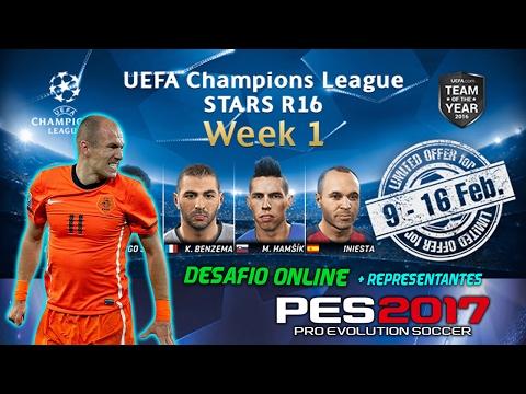 PES 2017 | MyClub | Reto Online UEFA CHAMPIONS LEAGUE