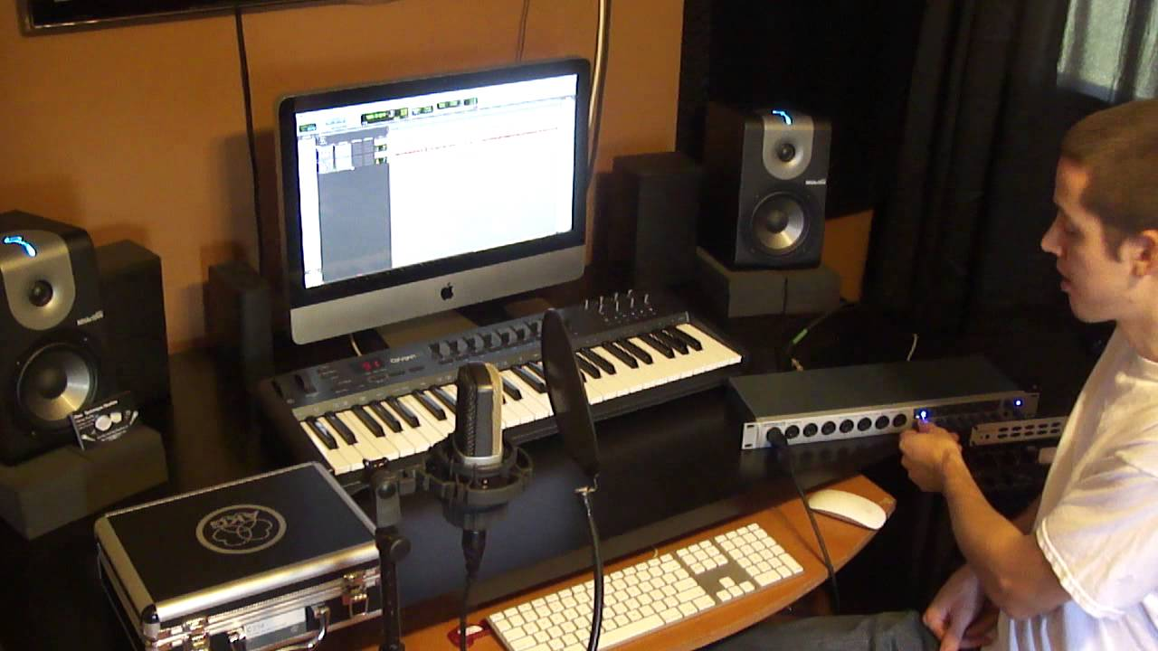 Simple Bedroom Recording Studio how to set up a home recording studio - the basics needed to start