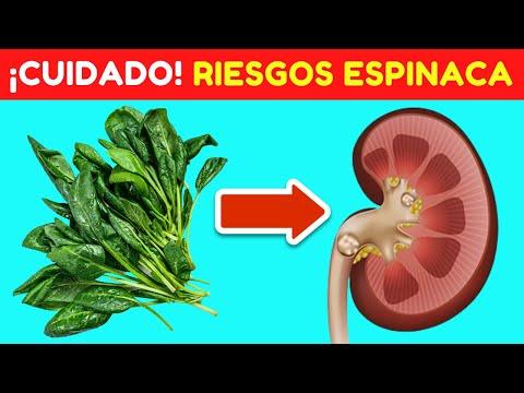ESPINACAS: BENEFICIOS Y RIESGOS QUE DEBES CONOCER ❌✅