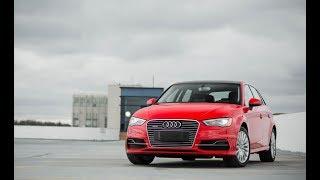 2016 Audi A3 e-tron Sportback turbocharged 1.4-liter inline-4 hybrid engine
