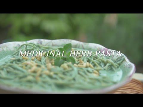 mideast-eats:-medicinal-herb-pasta