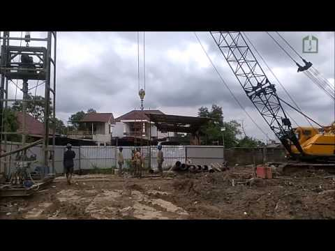 Proyek Pembangunan Light Rail Transit (LRT) Zona 5 Di Palembang - Sumatera Selatan.