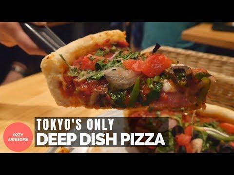 Tokyo's ONLY Deep Dish Pizza Restaurant! Devil Craft Tokyo!