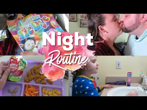 Our Autism Family Night Routine