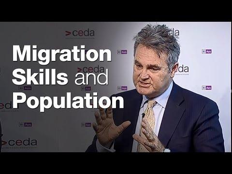 Migration, skills and population
