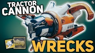 Tractor Cannon WRECKS (Exotic Catalyst) | Destiny 2
