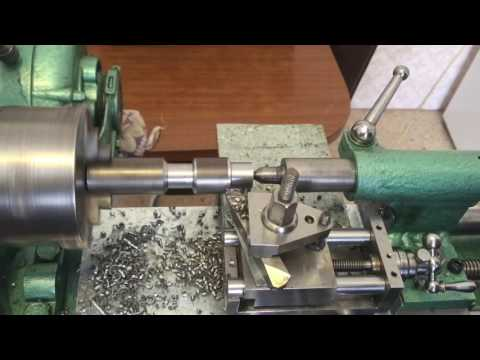 Home made Lathe designed and made by Nich Bugeja