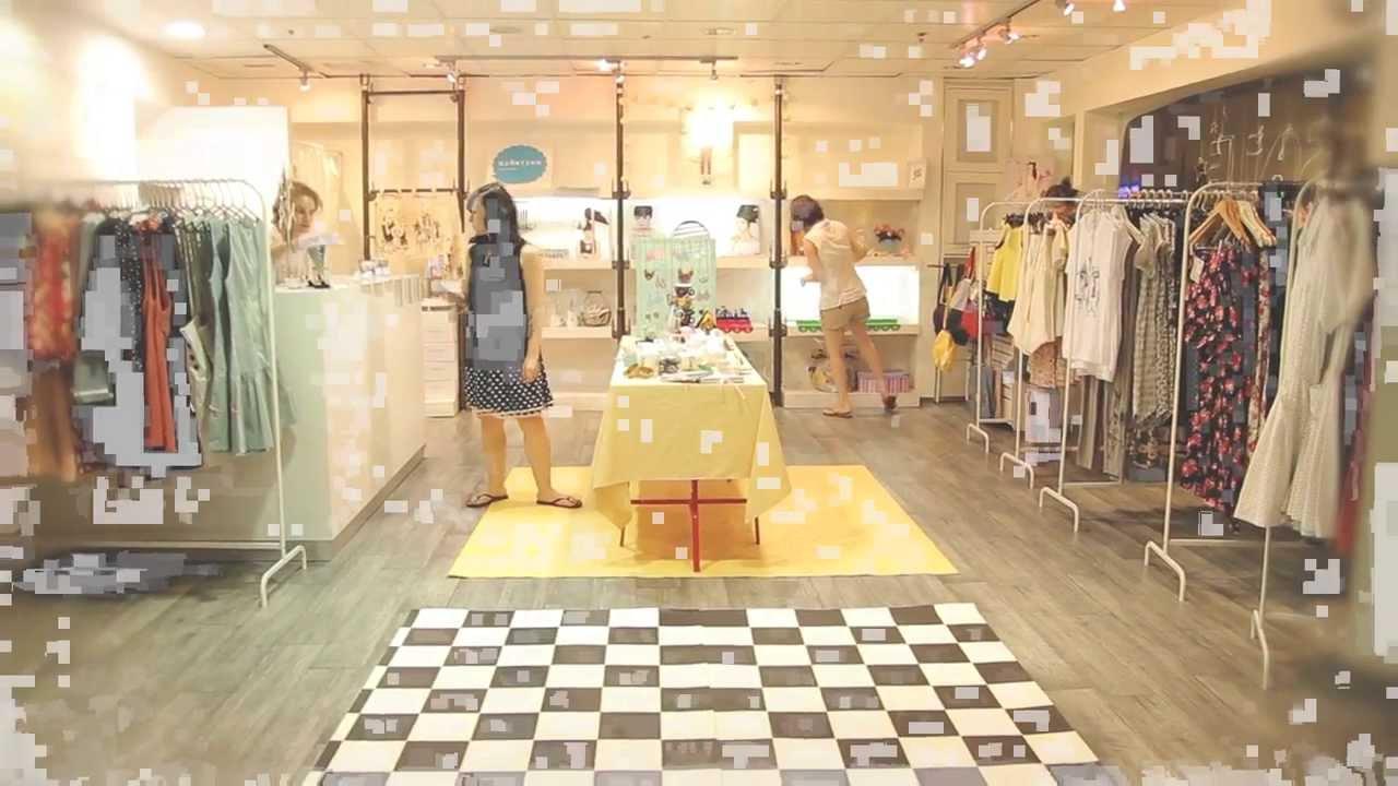 6490ce6c307c9 ART-FASHION-DESIGN One week concept shop - YouTube